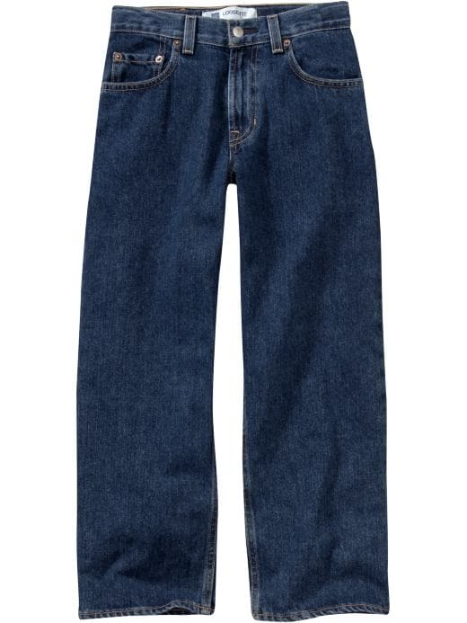 Gap 1969 Loose Jeans - Dark stonewashed - Gap Canada