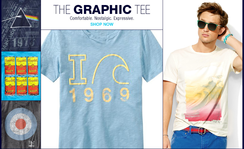 shop the graphic tee
