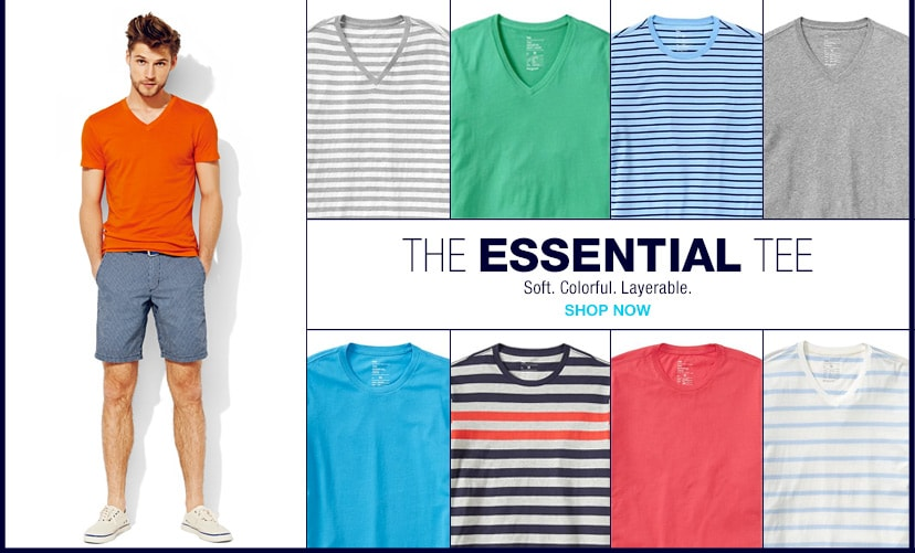 shop the essential tee