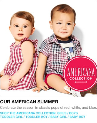 shop the americana collection