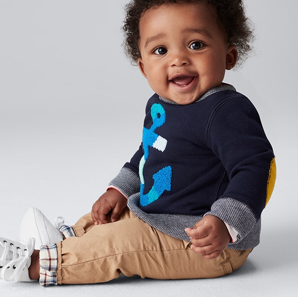 Explore the stylish world of Gap Kids for the latest versatile apparel. Shop GapKids for head to toe adorable outfits.