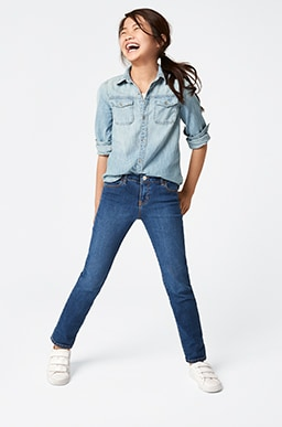 Girls Superdenim Shop, Straight