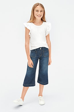 Girls Superdenim Shop, Wide Leg