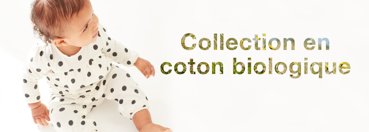 collection en coton biologique