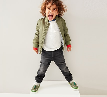 Toddler Boys Superdenim Shop, Jogger