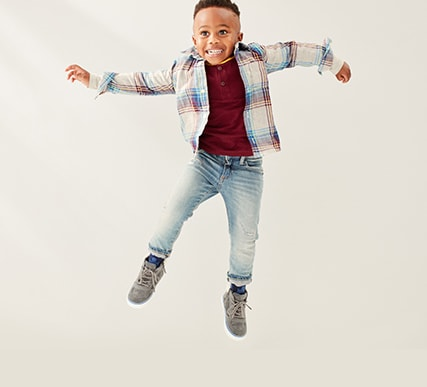 Toddler Boys Superdenim Shop, Slim Taper