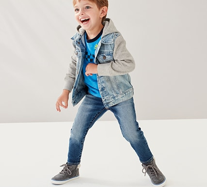 Toddler Boys Superdenim Shop, Slim