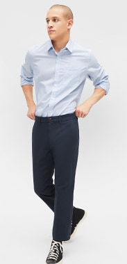 Men's Straight Pants