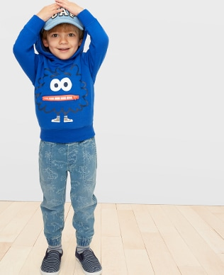 Toddler Boys Denim Shop, Jogger: Relaxed fit through the hip and leg. Tapered at the ankle.