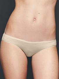 Stretch cotton teeny bikini