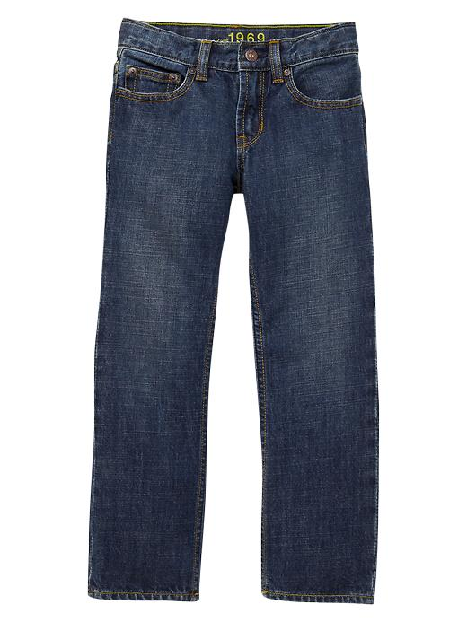 Gap Loose Fit Jeans - Dark stonewash - Gap Canada
