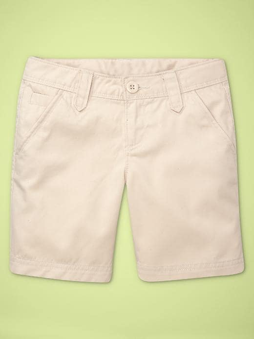 Gap Uniform Shorts - Stone - Gap Canada
