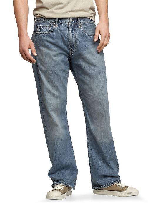 Gap Loose Fit Jeans (Pale Blue Wash) - Pale blue - Gap Canada