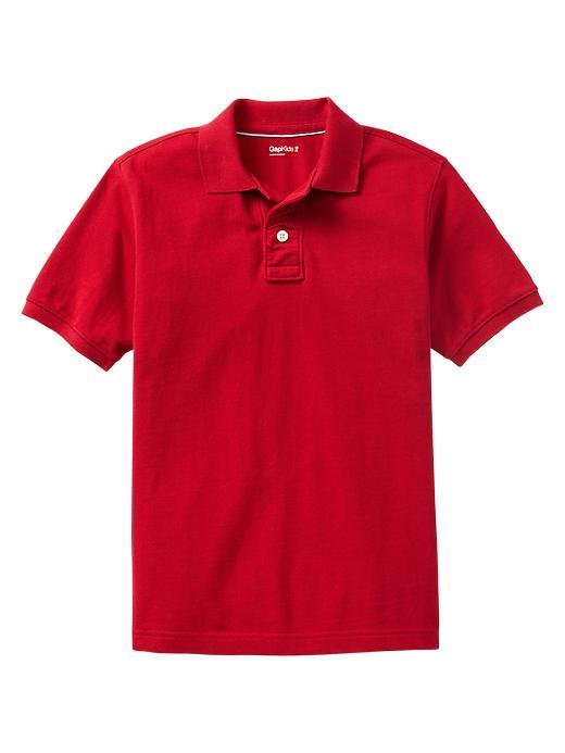 Gap Uniform Piquã© Polo - Ruby red - Gap Canada