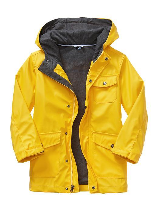 Gap Uniform Rain Slicker - Yellow sundown - Gap Canada