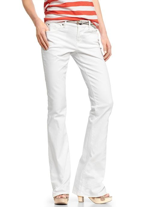 Gap 1969 Sexy Boot Jeans - White - Gap Canada