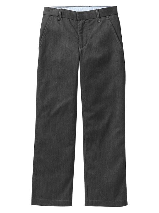 Gap Uniform Dress Pants - Heather gray