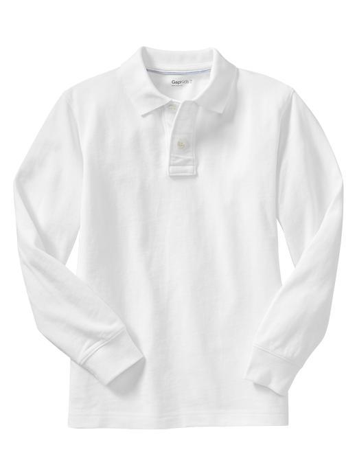 Gap Uniform Garment Dyed Piquã© Polo - White - Gap Canada