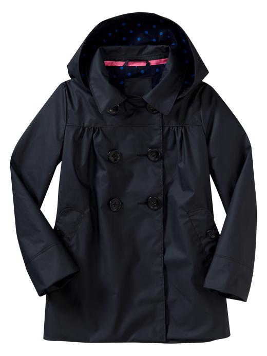 Gap Uniform Rain Coat - True navy