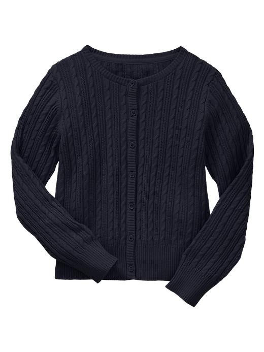 Gap Uniform Cable Cardigan - True navy - Gap Canada