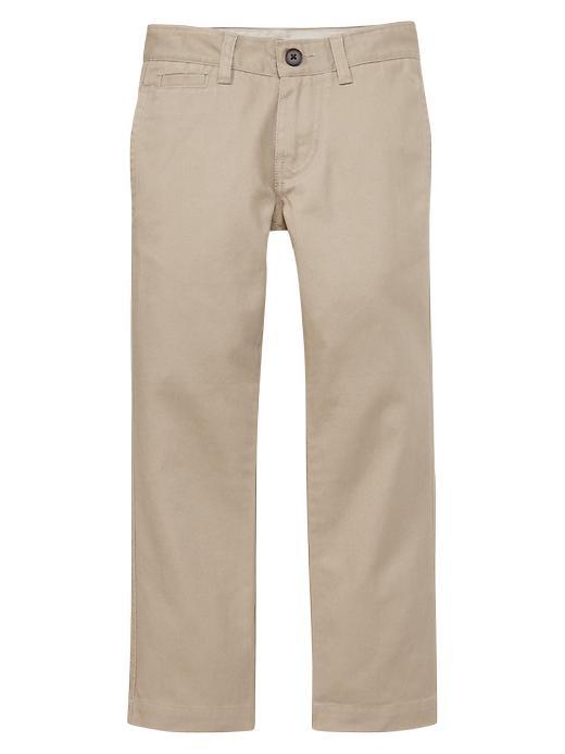 Gapshield Uniform Straight Chinos - Cargo khaki - Gap Canada