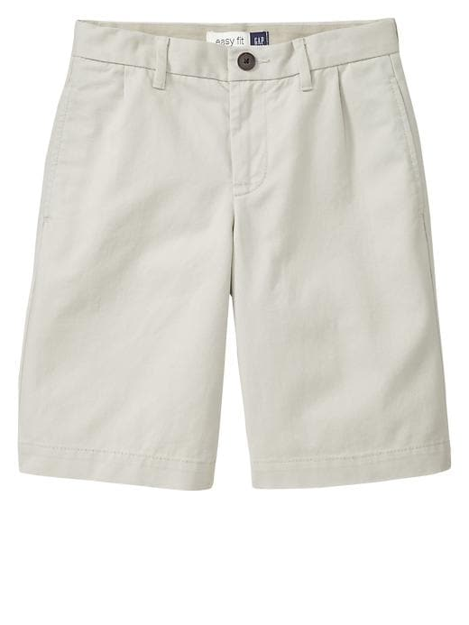 Gapshield Pleated Uniform Shorts - Stone - Gap Canada