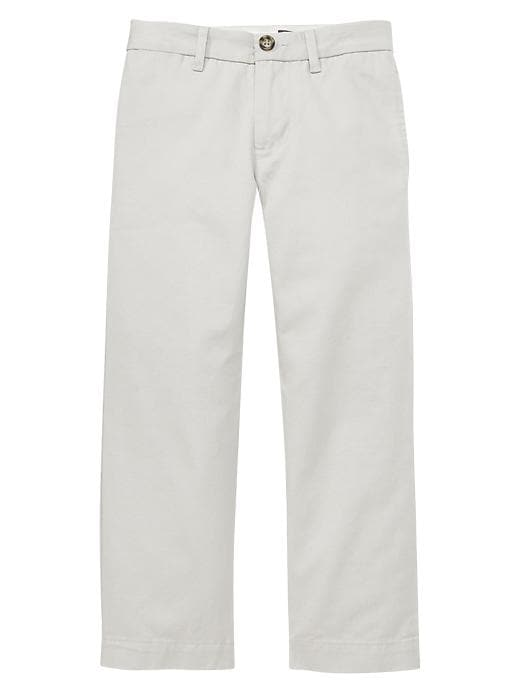 Gapshield Uniform Flat Front Pants - Stone