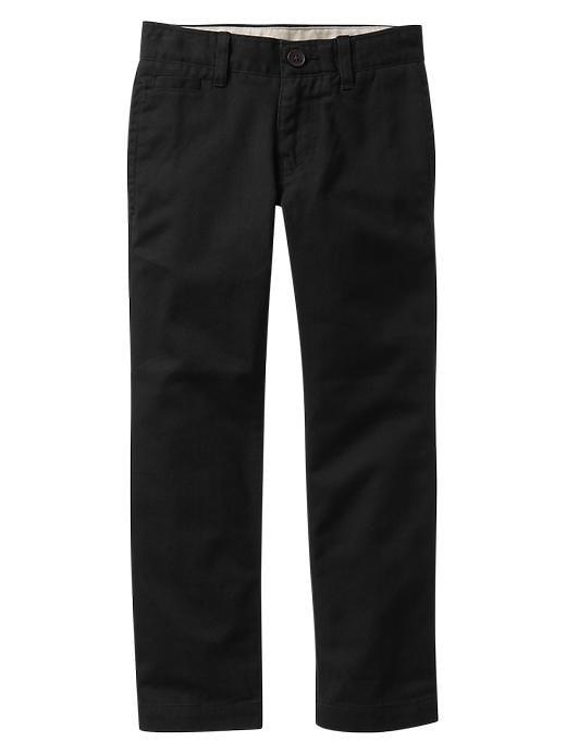 Gapshield Uniform Straight Chinos - Black - Gap Canada