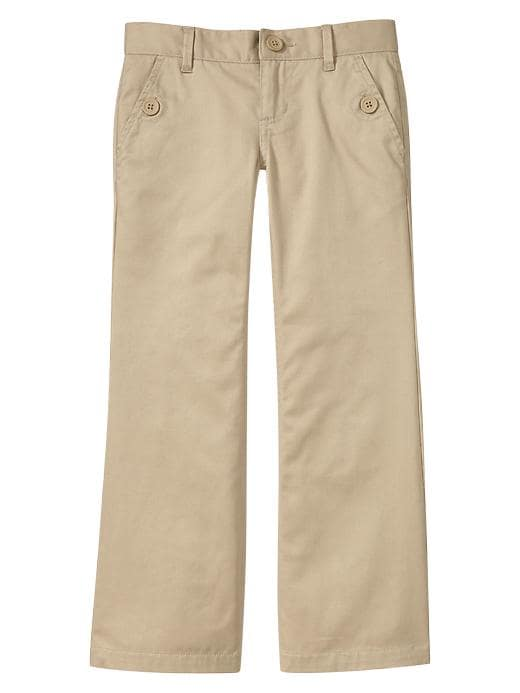 Gapshield Uniform Boot Cut Pants - Wicker 1 - Gap Canada