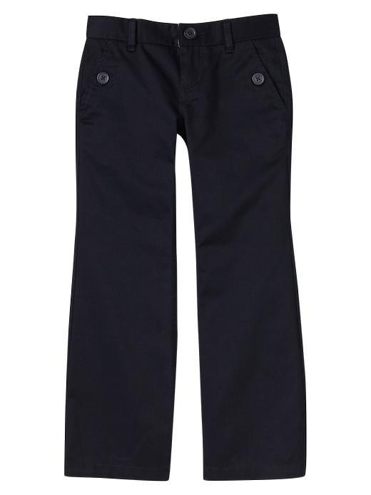 Gapshield Uniform Boot Cut Pants - True navy - Gap Canada