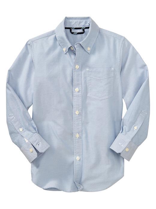 Gap Uniform Oxford Shirt - Oxford blue - Gap Canada