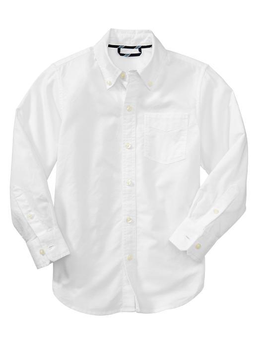Gap Uniform Oxford Shirt - White - Gap Canada