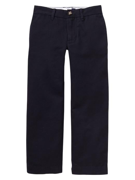 Gapshield Uniform Flat Front Pant - True navy