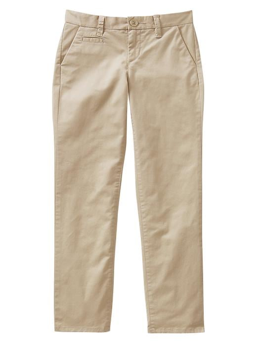 Gap Uniform Skinny Khakis - Wicker 1 - Gap Canada