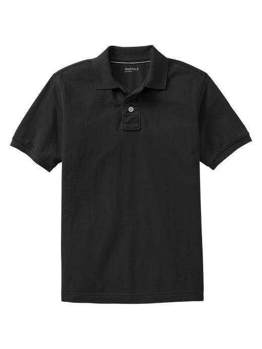 Gap Uniform Piquã© Polo - True black knit