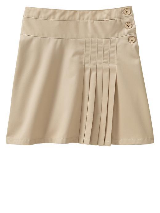 Gapshield Uniform Pleated Skirt - Wicker 1