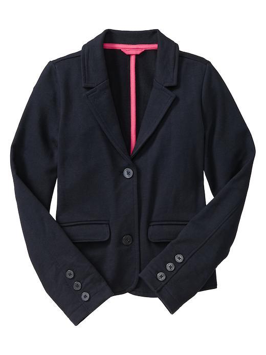 Gap Uniform Ponte Blazer - True navy - Gap Canada