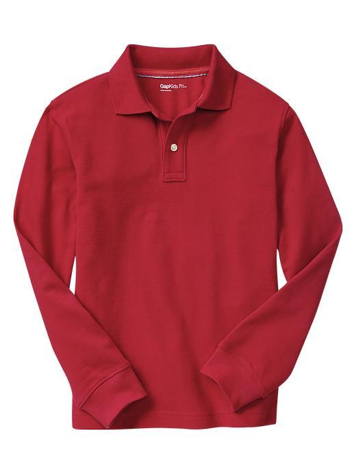 Gap Uniform Garment Dyed Piquã© Polo - Ruby red - Gap Canada