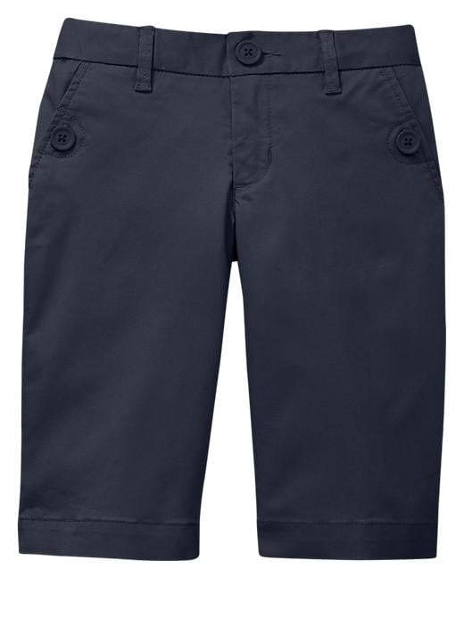 Gap Uniform Skinny Bermuda Shorts - True navy - Gap Canada