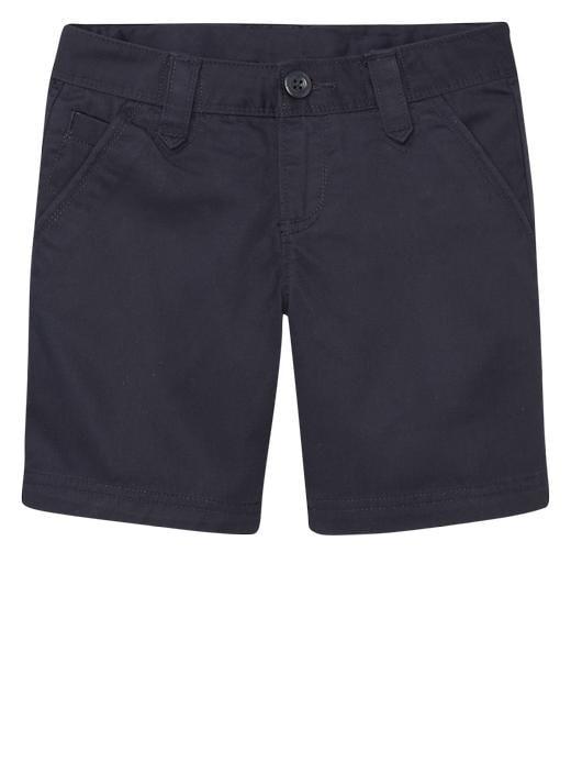 Gap Uniform Flat Front Shorts - True navy