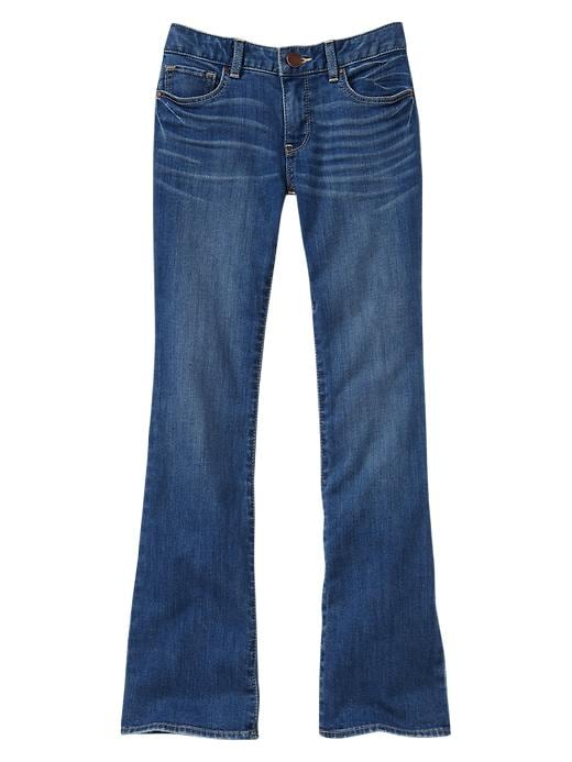 Gap Boot Cut Jeans (Faded Medium Wash) - Medium wash - Gap Canada