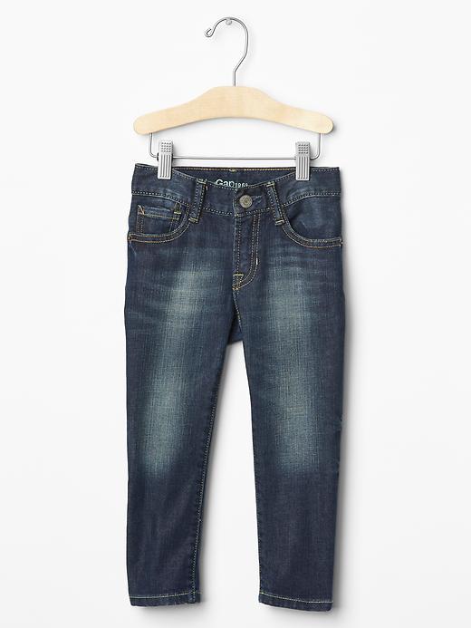 Gap Skinny Jeans (Indigo Wash) - Medium wash