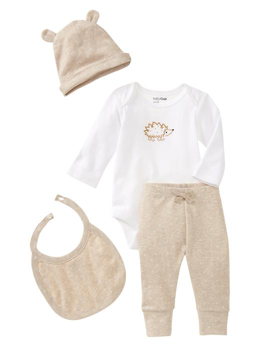 Gap Favorite Printed Welcome 4 Piece Set - White - Gap Canada