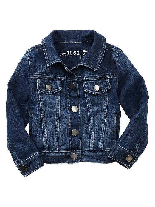 Gap Classic Dark Denim Jacket - Medium denim - Gap Canada