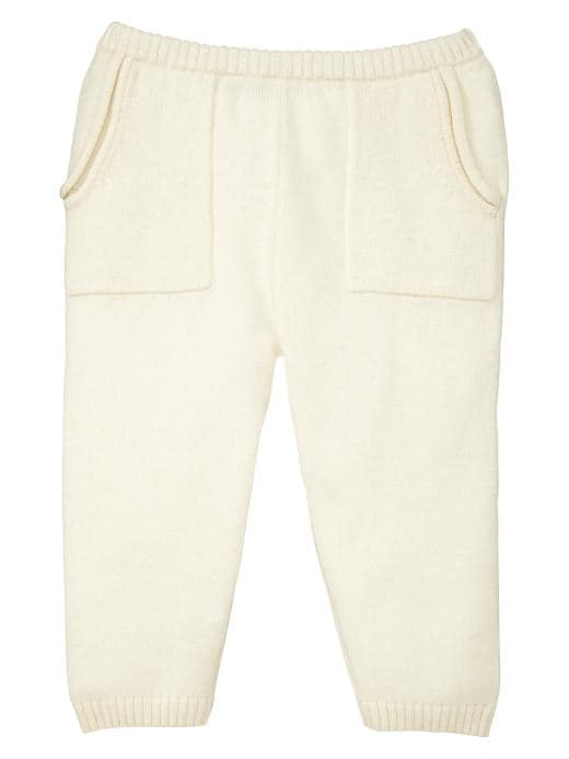 Gap Cashmere Pants - Ivory frost - Gap Canada