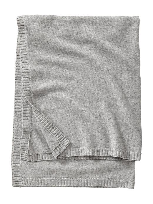 Gap Favorite Cashmere Blanket - Gray - Gap Canada