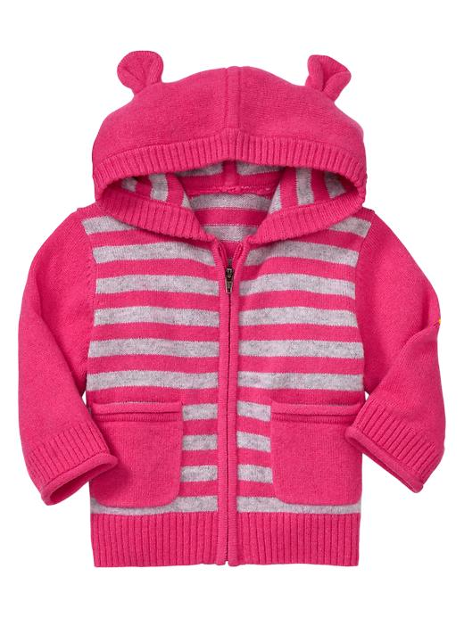 Gap Cashmere Hoodie Sweater - Neon double pink - Gap Canada