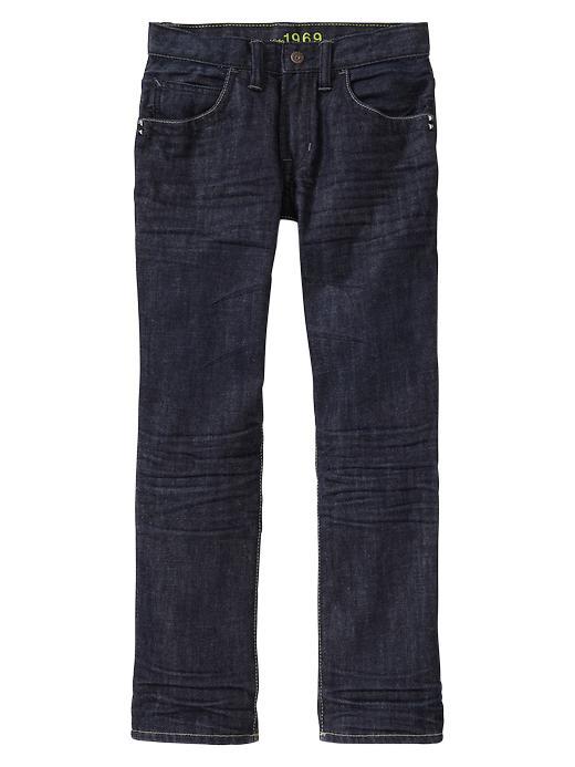 Gap Straight Jeans (Dark Wash) - Denim - Gap Canada