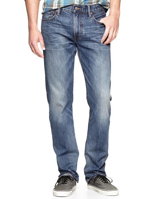 Gap 1969 Straight Fit Jeans (Mayport Wash) - Mayport - Gap Canada