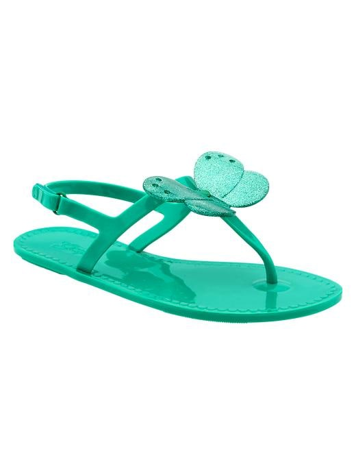 Gap T Strap Butterfly Jelly Sandals - Egyptian turquoise - Gap Canada